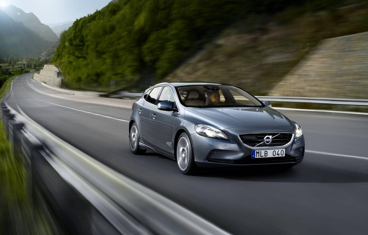 The all-new Volvo V40 possesses some high-tech features, including the world's first pedestrian airbag system