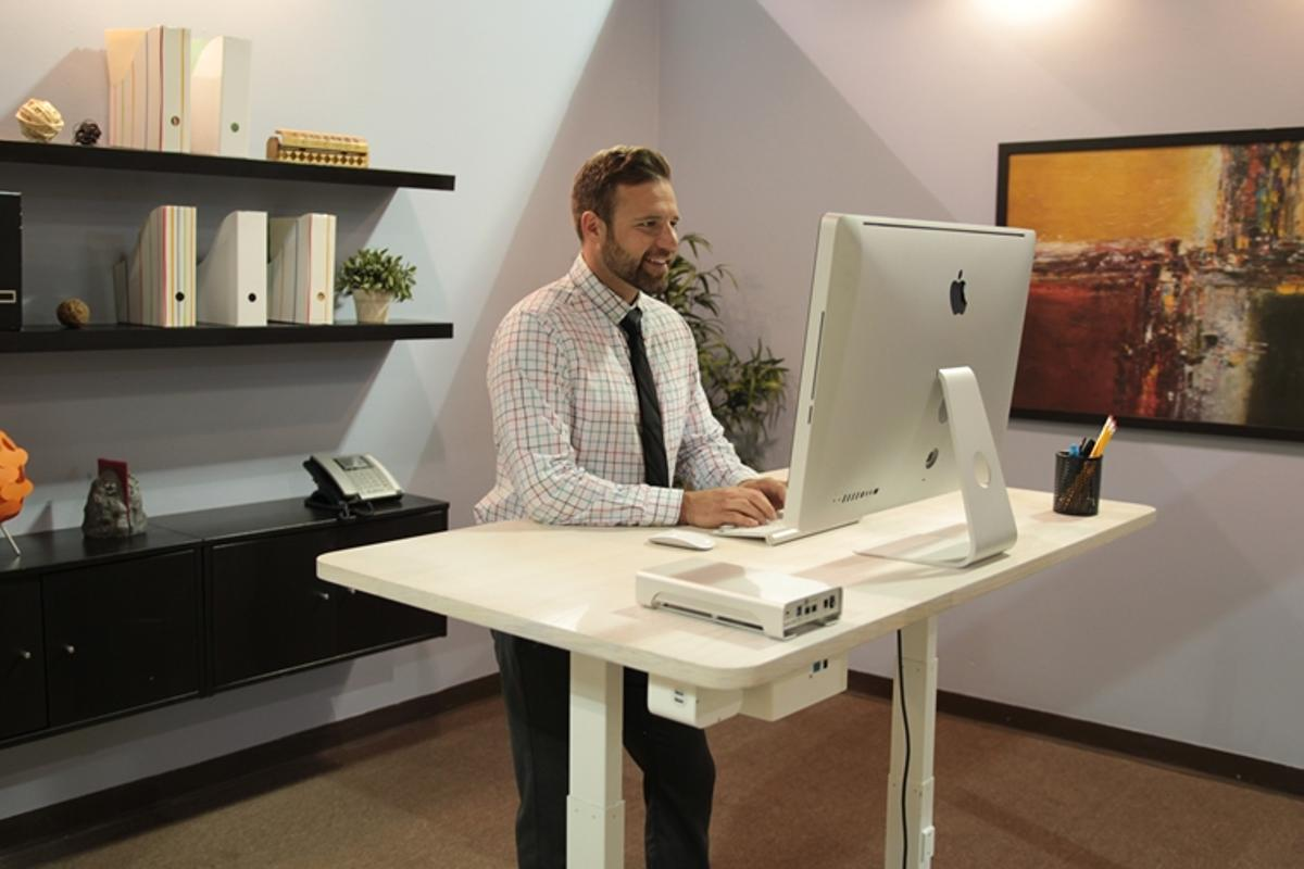The Autonomous Desk comes with a ready-made training plan for getting used to a standing desk