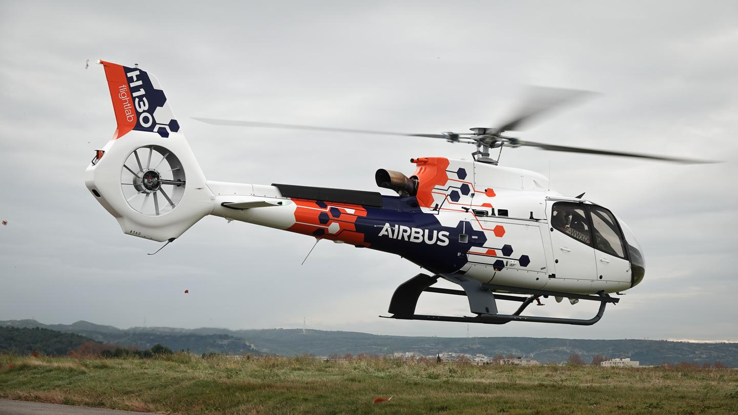 Airbus' Flightlab helicopter is a test bed for new aircraft technologies