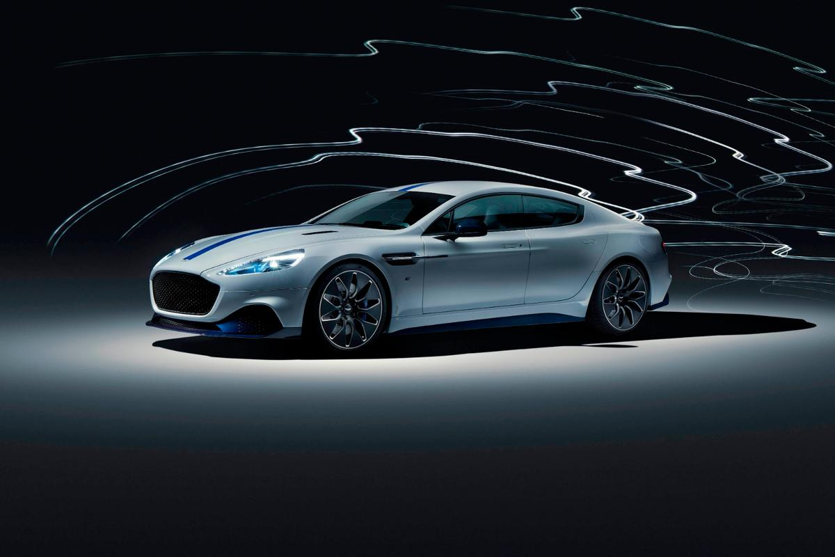 Aston Martin has revealed the Rapide E, its first electric production car, in Shanghai
