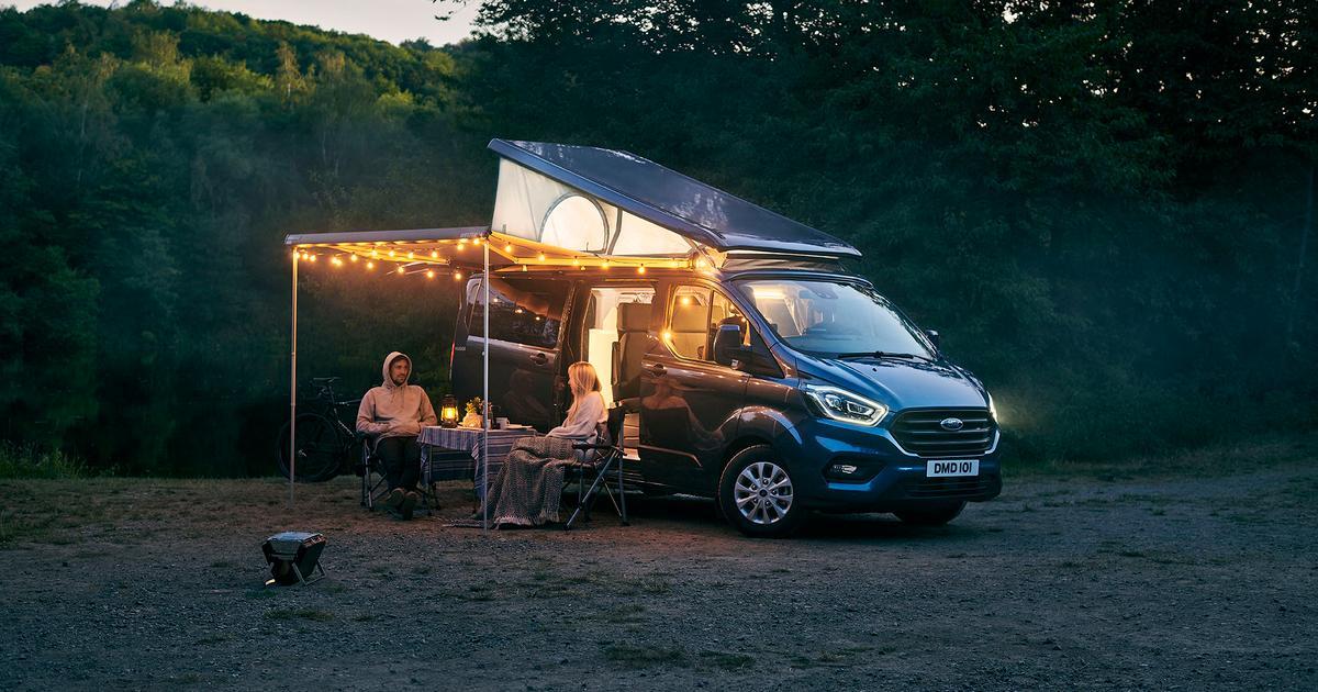 Bathroom included: Ford Nugget Plus camper van outshines VW's pop-top