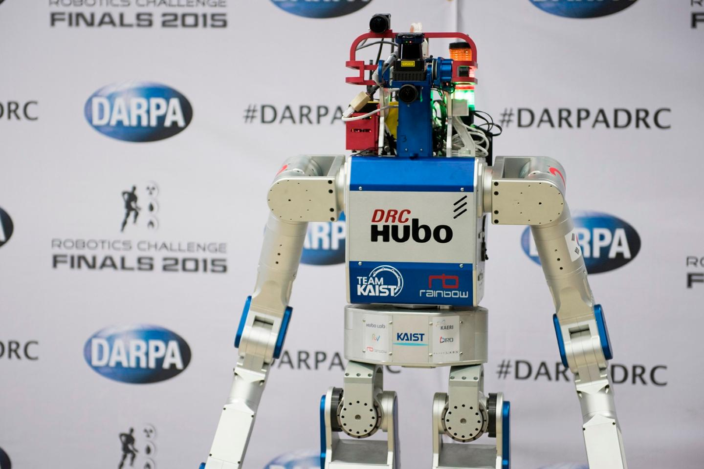 KAIST's DRC-HUBO took first place