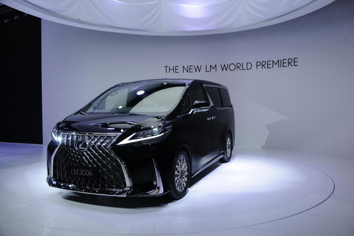 Lexus shows the world what a luxury minivan looks like at Auto Shanghai 2019