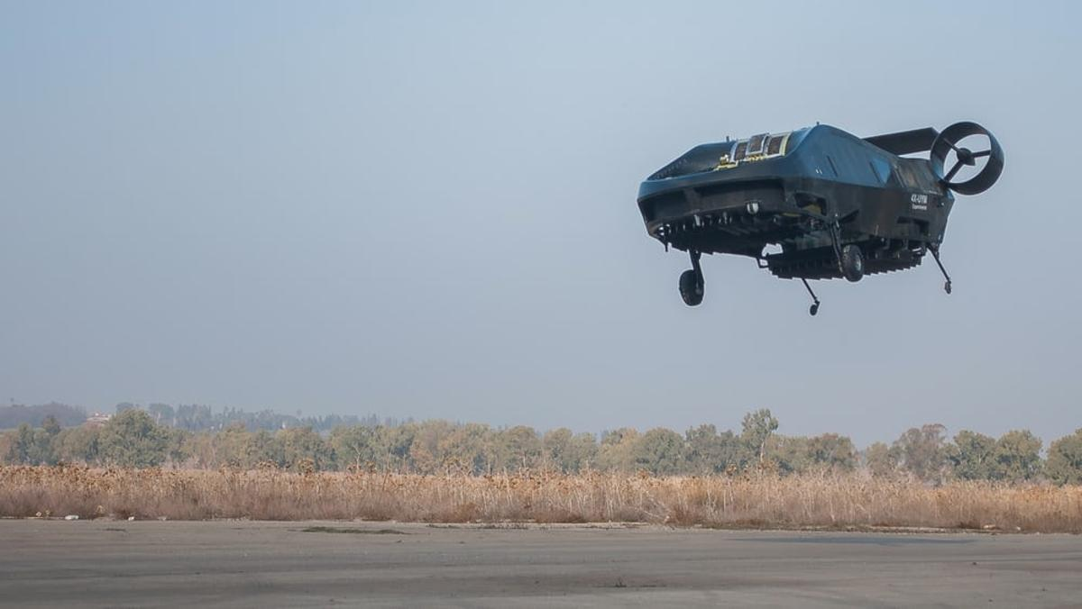 Tactical Robotics' Cormorant UAV (formerly known as the AirMule) has spent the Israeli summer being tested