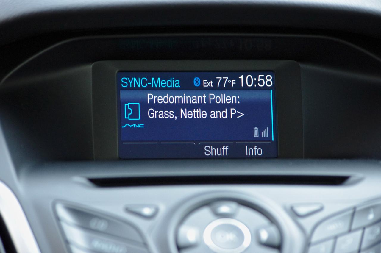 Ford wants its cars to provide motorists with allergy alerts