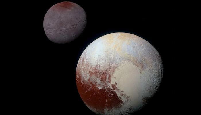 NASA scientists studying the data from New Horizons' flyby of Pluto and its moons uncovered some strange details