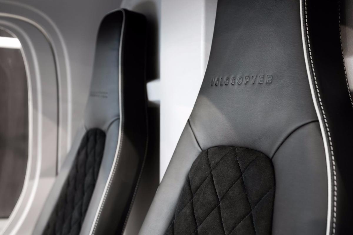 Interior of e-volo's all electric Volocopter
