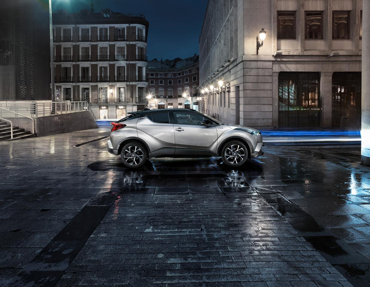 The C-HR's design is largely unchanged from the concepts that preceded it