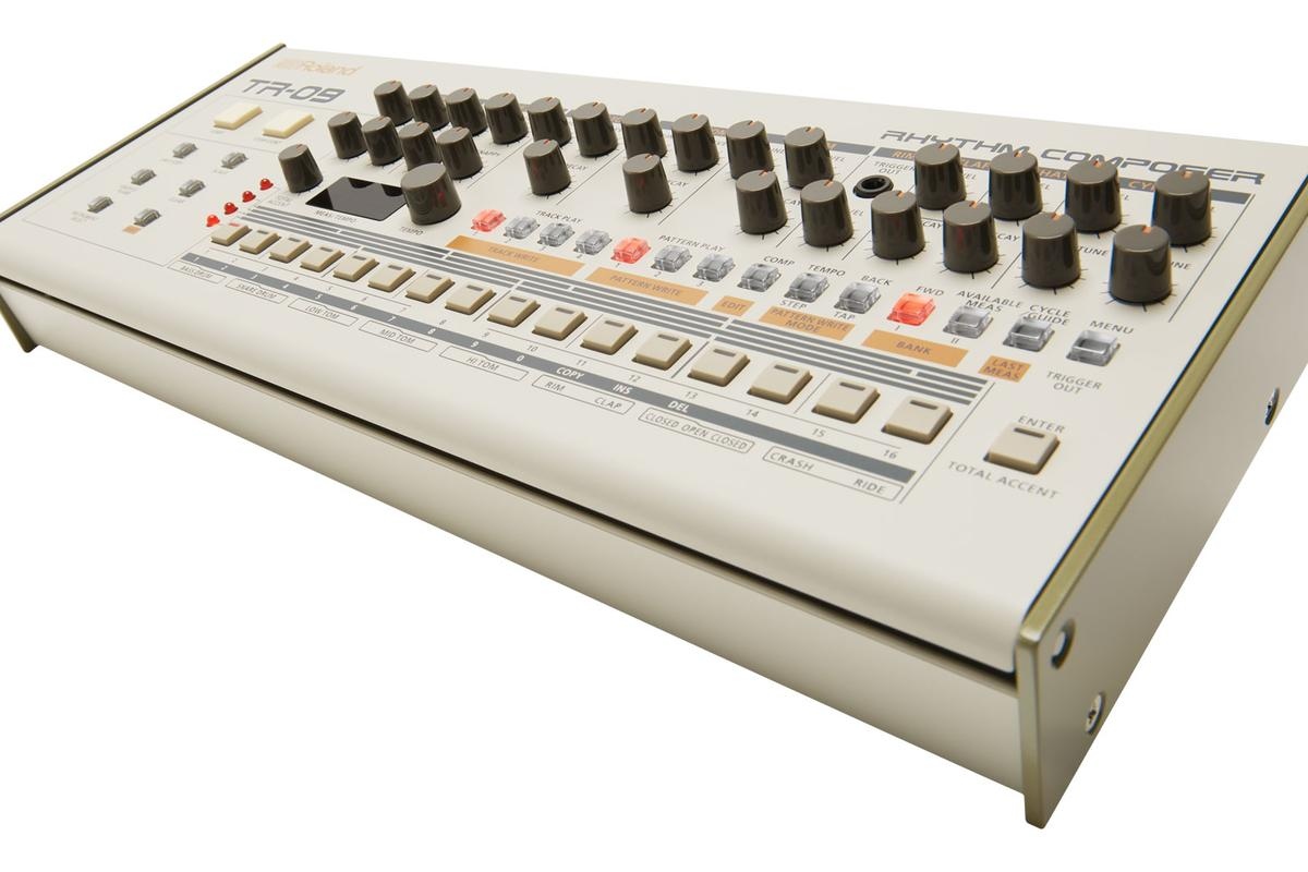 A compact, portable version of the TR-909 called the TR-09leads Roland's 909 Day celebrations