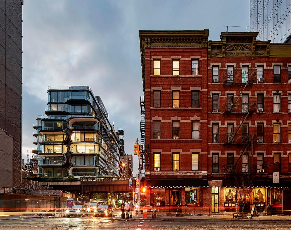 Zaha Hadid Architects' first project in New York City is named520 West 28th Street