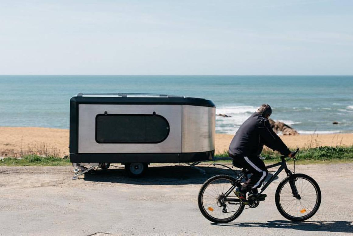 The Tipoon is designed to be compact and garageable