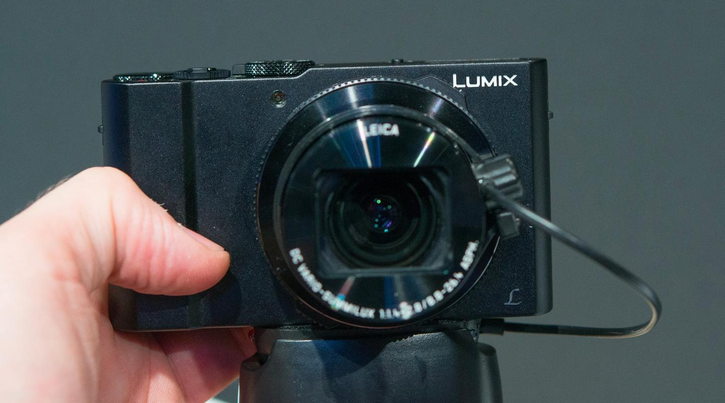 The Panasonic LX15/LX10 is described as a premium 4K camera