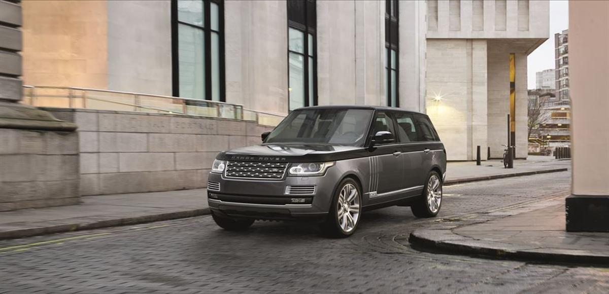 The Range Rover SVAutobiogaphy débuts at the 2015 New York International Auto Show