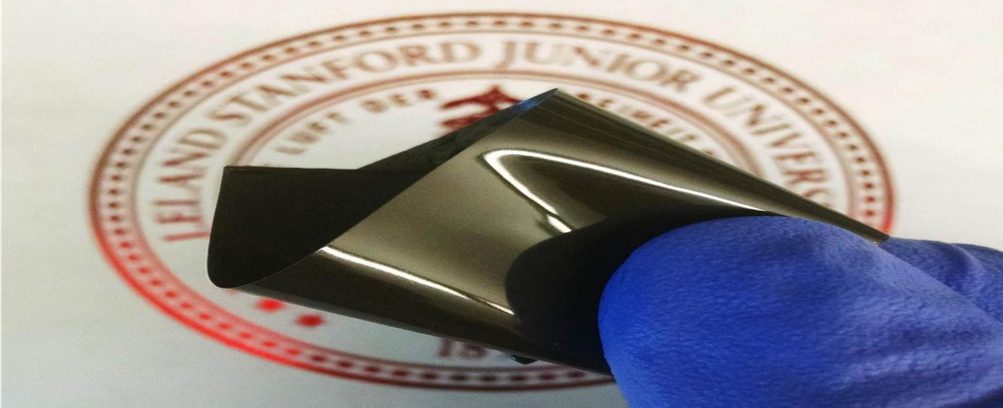 Polyethylene film embedded with nanoparticles shuts off current flow before batteries overheat