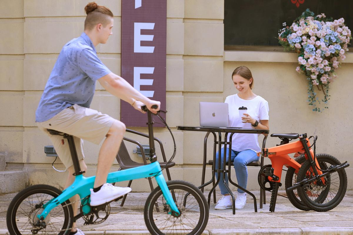The Morfuns Éole ebikes are currently the subject of an Indiegogo crowdfunding campaign