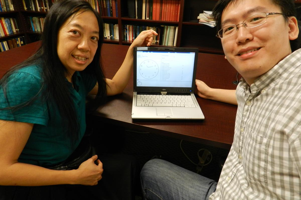 Reseachers at George Tech have created software that is a digital version of the Clock Drawing Test used to diagnose early signs of cognitive impairment