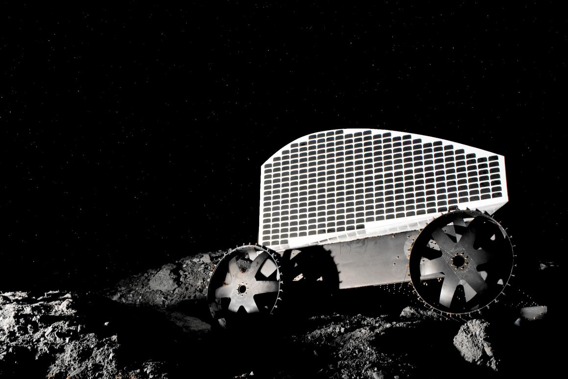 The Polaris lunar water prospecting robot prototyple