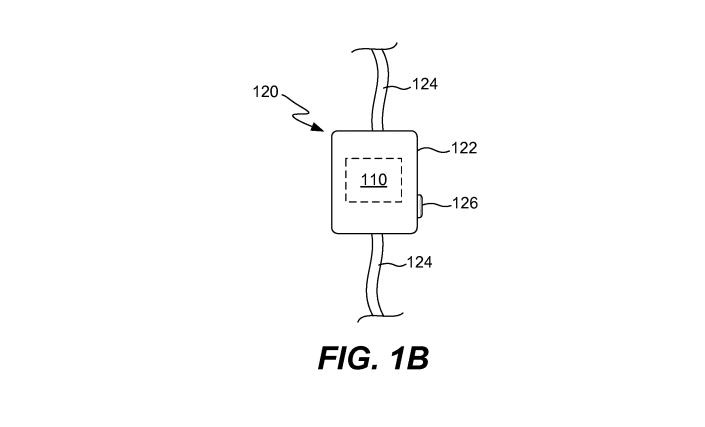 A drawing of the controls from Apple's patent