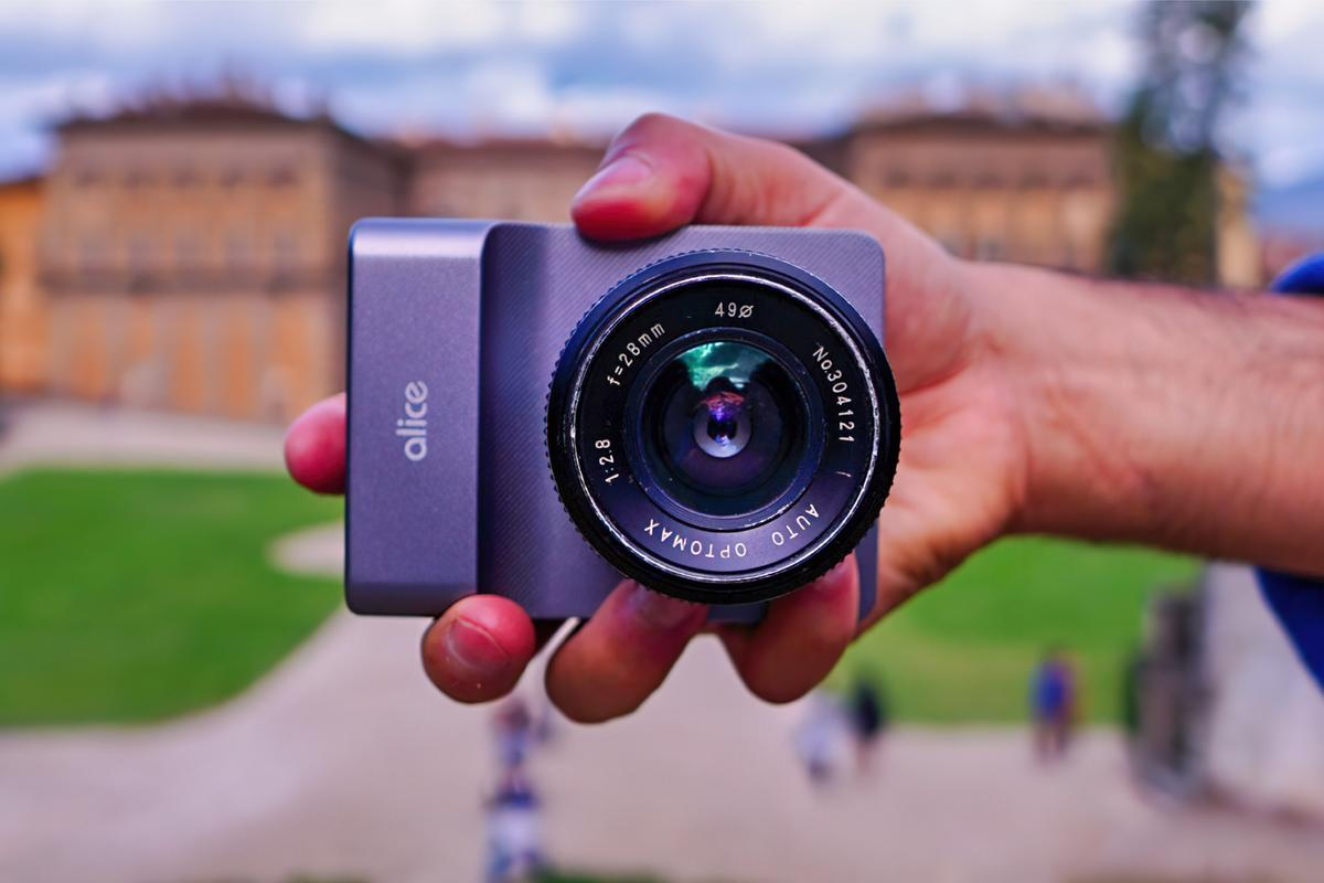 The Alice Camera has launched on Indiegogo, where pledge levels start at £550