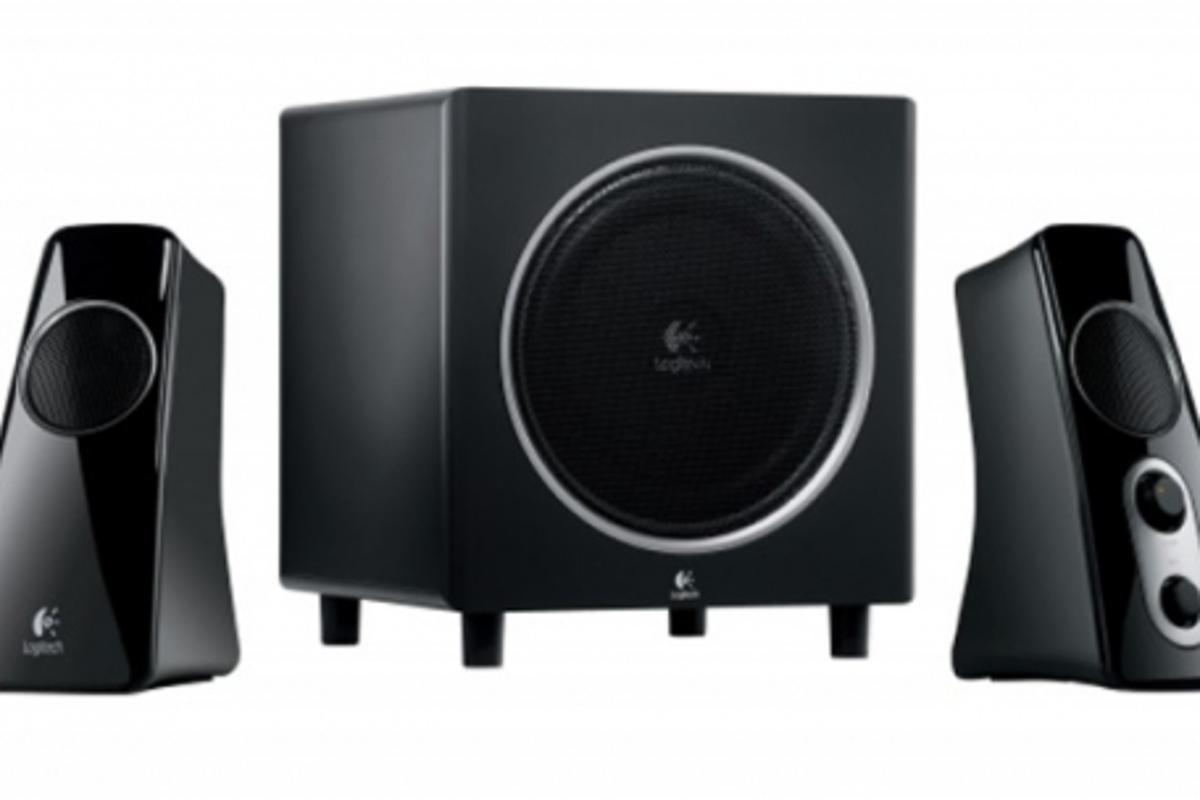 The Logitech Speaker System Z523