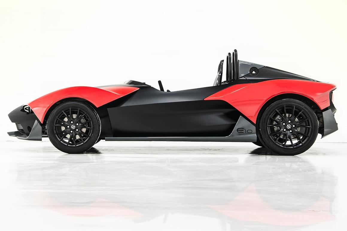 The Zenos E10 made its debut at Autosport International 2014 in Birmingham