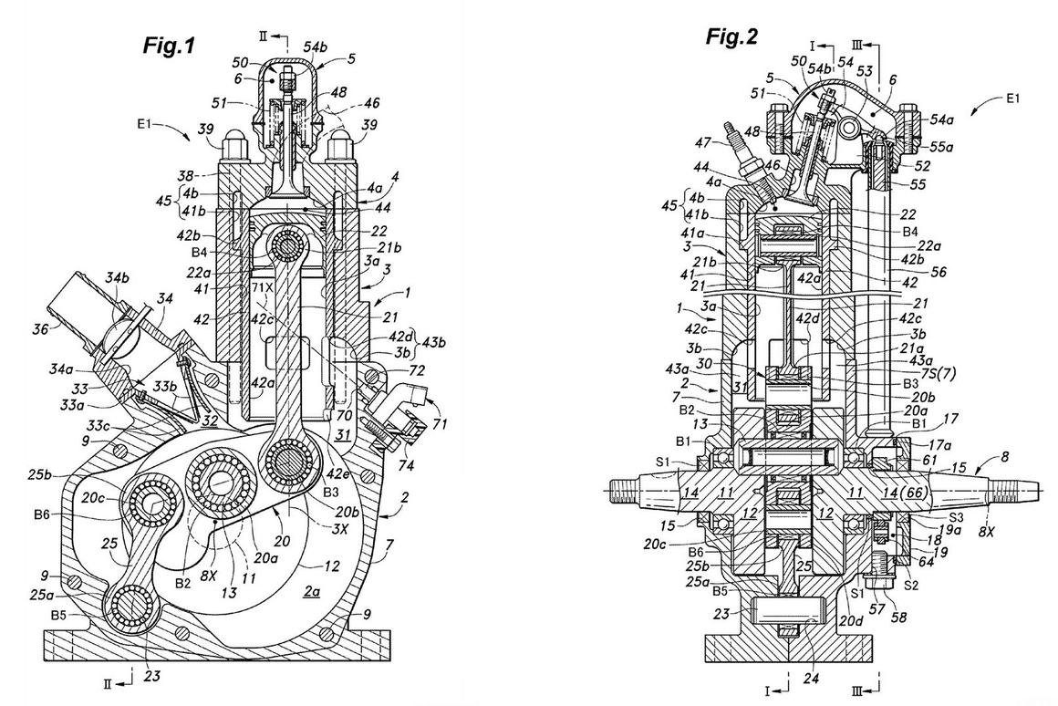 Honda plans to revive the two-stroke engine, according to patent documents lodged earlier this month
