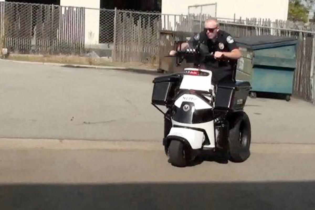 The T3 Non-Lethal Response Vehicle is an EV designed for police use in riots and violent protests
