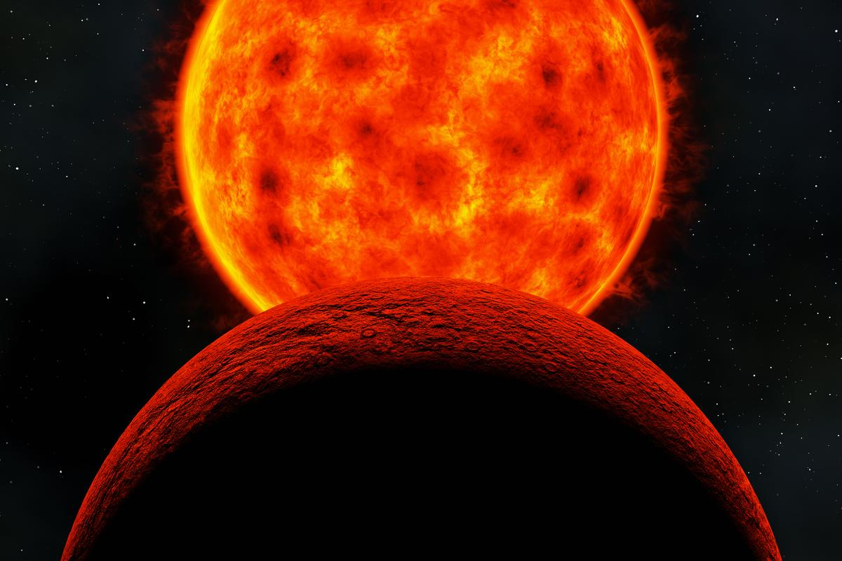 Astronomers may have found evidence of exoplanets orbiting red dwarf stars using a new technique