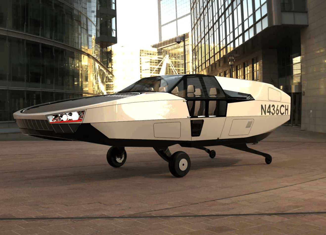 Urban Aeronautics has announced that its remarkable CityHawk VTOL air taxi will move to a zero-emissions hydrogen powertrain, in partnership with HyPoint