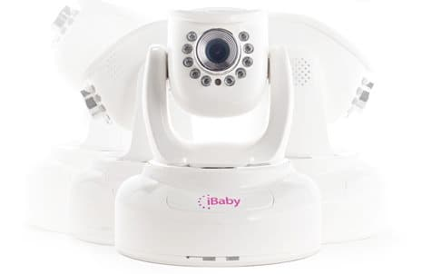 iBaby is an iPhone-controlled baby monitor, which can be remotely panned and tilted