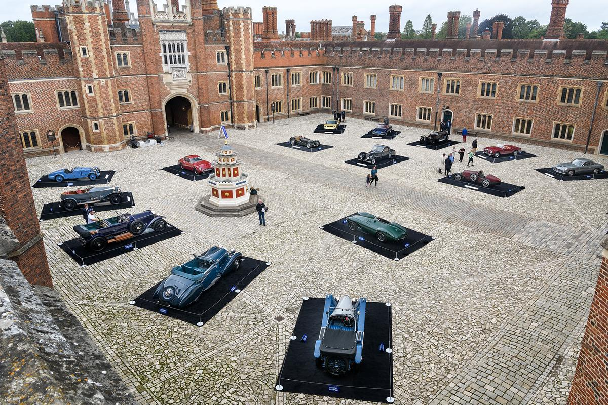 The stage is set at the former home of Henry VIII for an auction quite unlike any in history