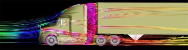 XStream Trucking initially validated the concept using computational fluid dynamics
