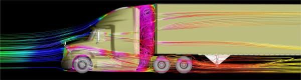 XStream Trucking initially validatedthe concept using computational fluid dynamics