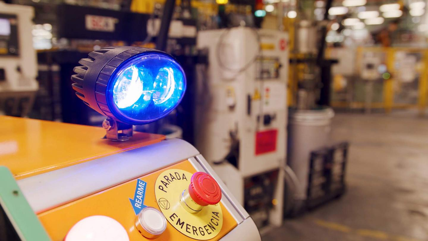 Ford's Survival robot uses LiDAR to get around