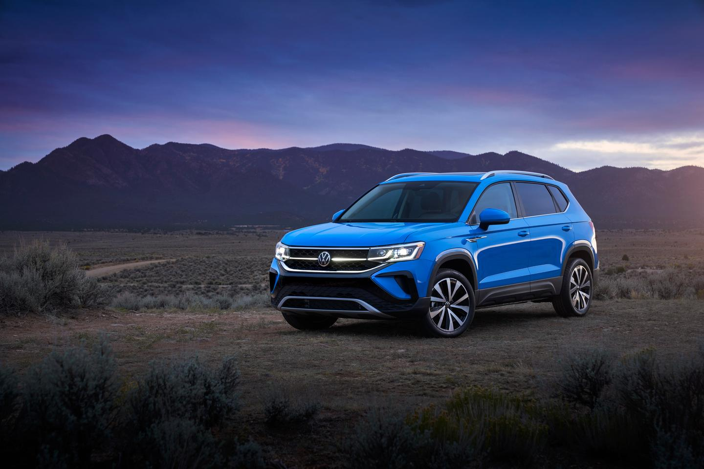 Volkswagen brings the new Taos to the entry point of its US SUV lineup
