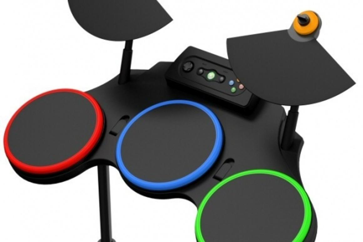 Do the Guitar Hero World Tour instruments work with Rock