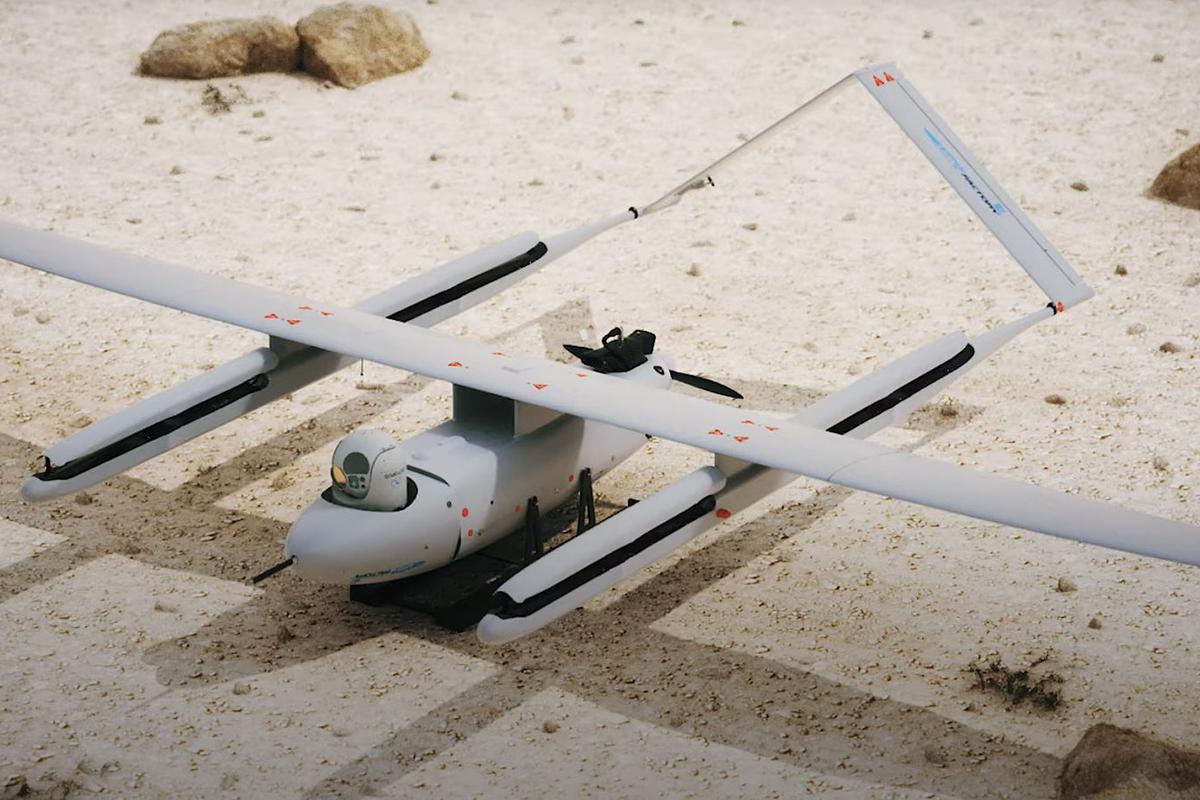 The Penguin C Mark 2 drone