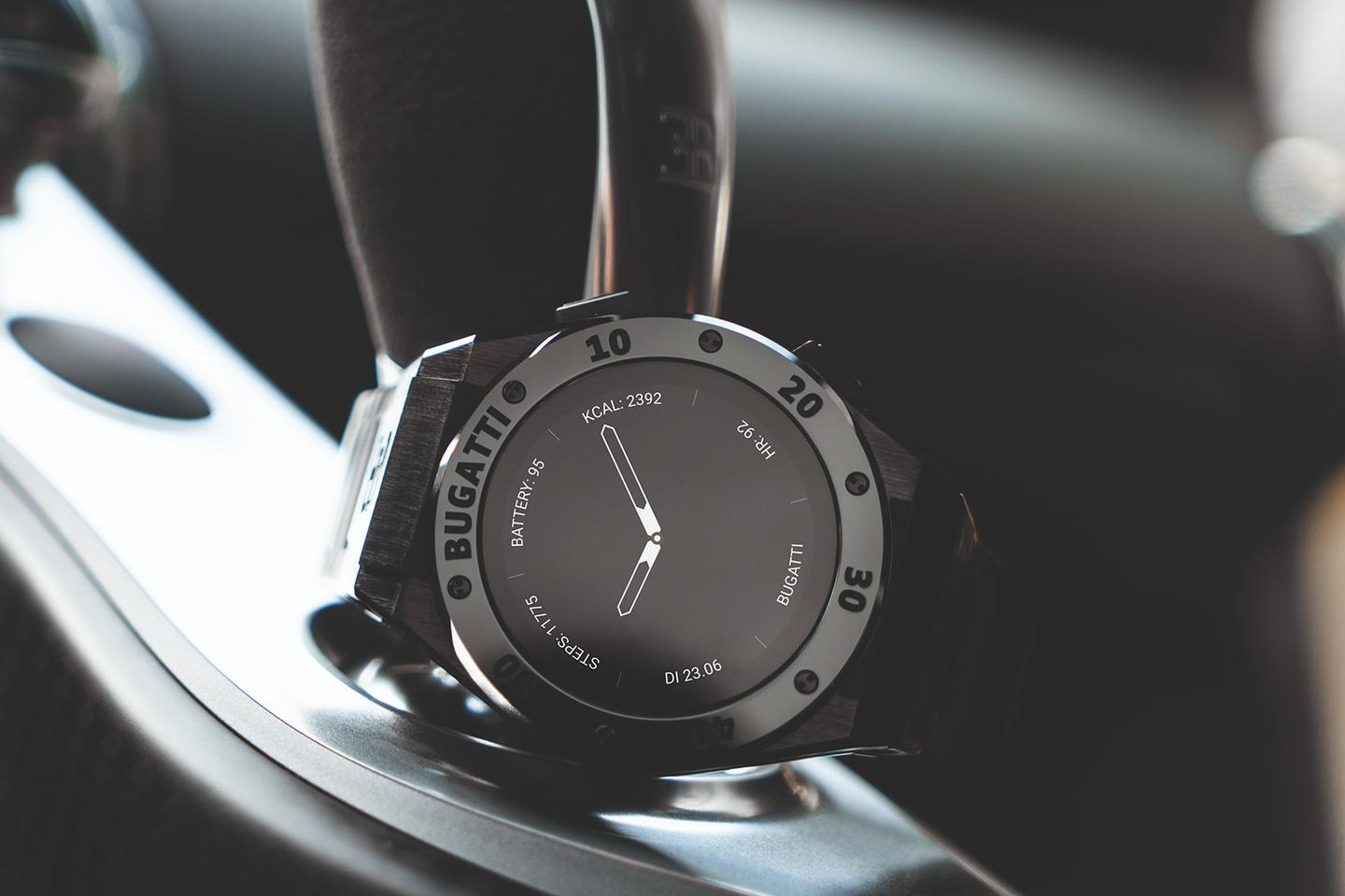 Bugatti has lent its name to three new smartwatch models