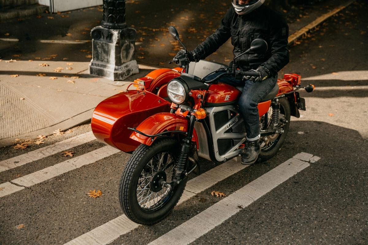 An all-electric Ural sidecar with a Zero powertrain? Sure, why not?