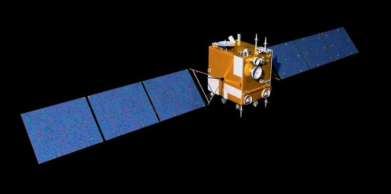 An artist's conception of the Chang'E lunar orbiter come asteroid probe