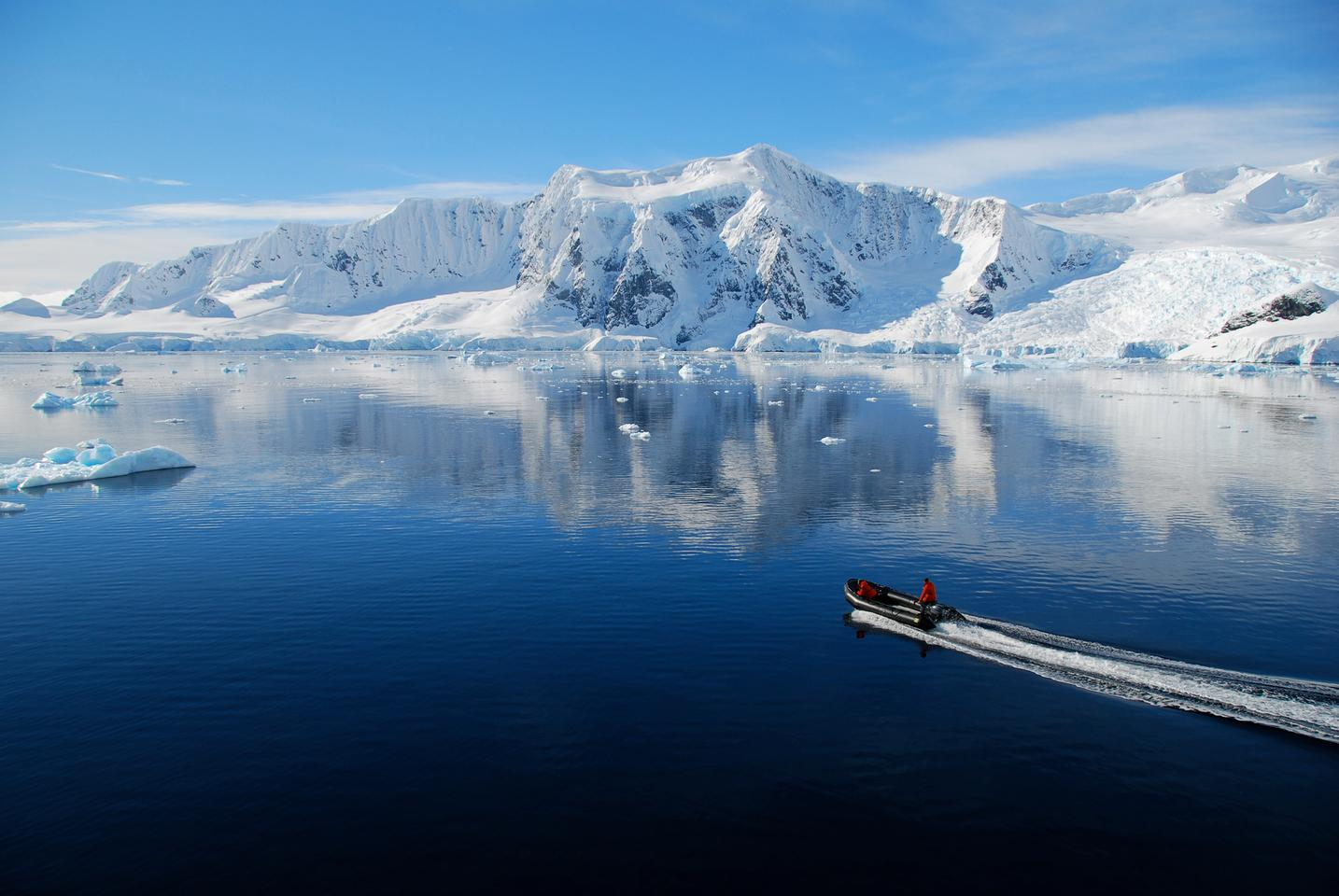 Researchers have discovered microplastic particles in Antarctic sea ice for the first time