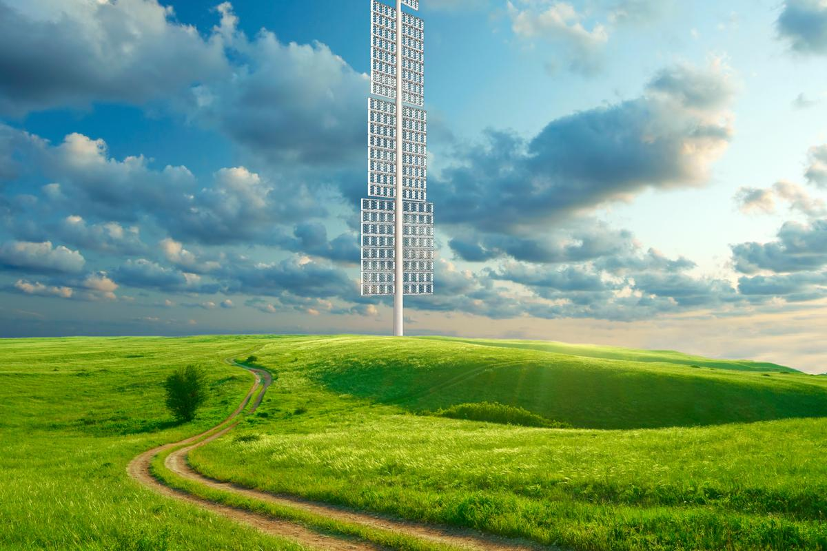 Researchers in Australia have developed the PowerWINDows, a new type of wind turbine that replaces spinning blades with slowly rotating window panels