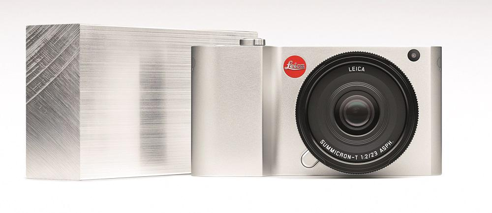 The Leica T is a minimalist camera which is milled from a solid block of aluminum
