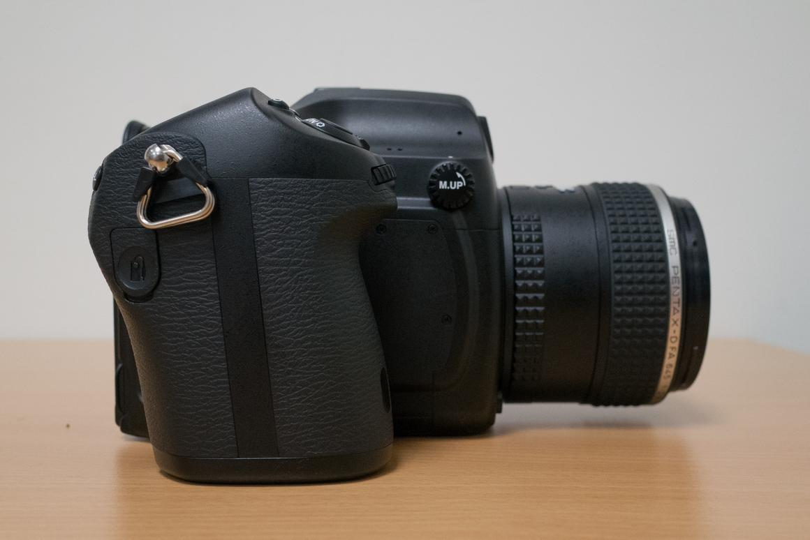 Hands-on: Pentax 645Z medium-format camera