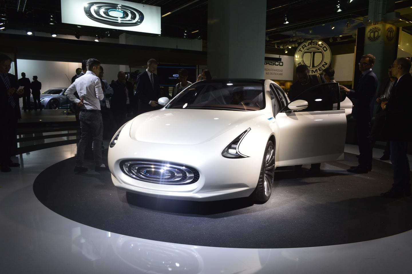 The Thunder Power Sedan is a rear-drive, all electric luxury car out of Taiwan