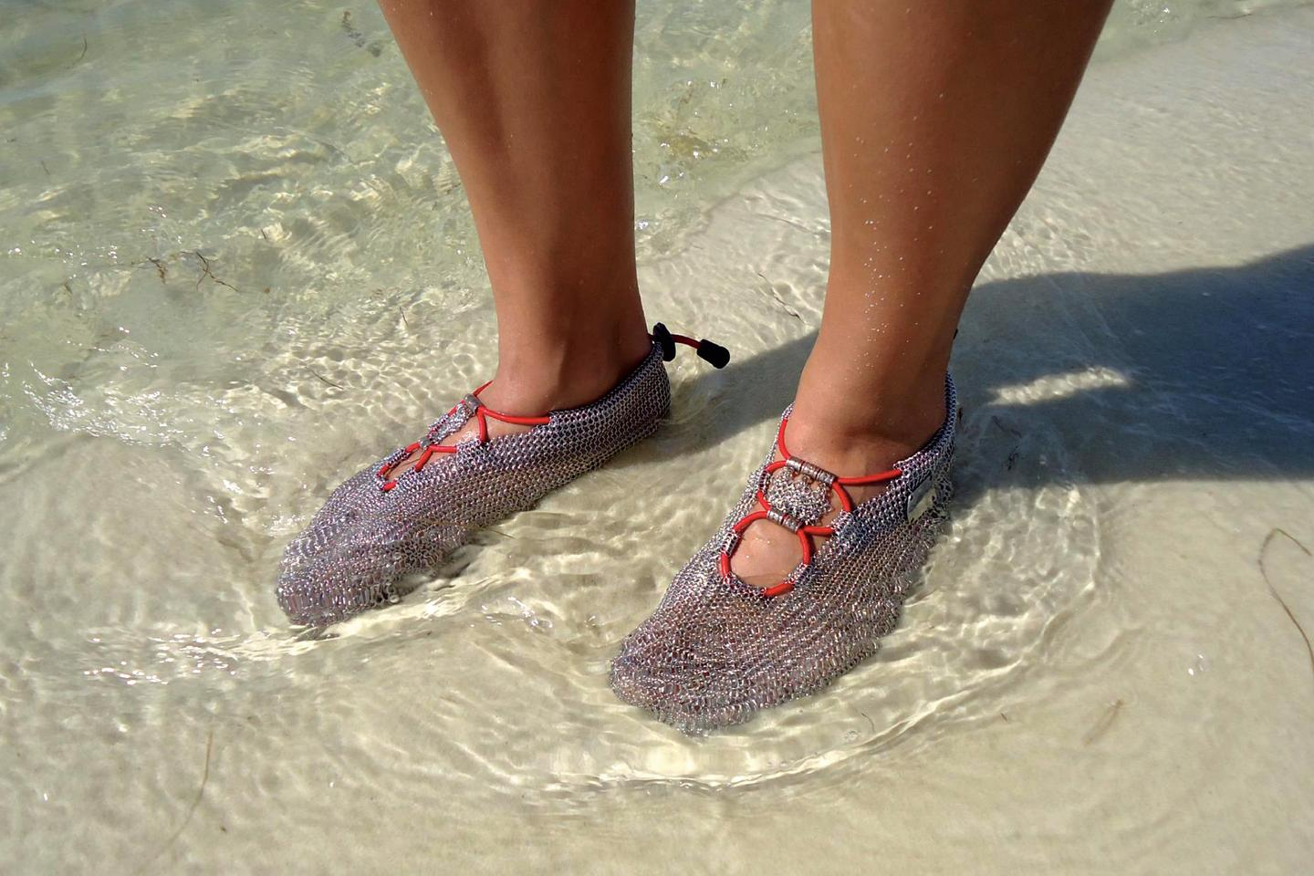 PaleoBarefoots allow you to feel the water