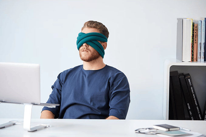 "Studio Banana has returned to Kickstarter to fund its first ""eye pillow"""