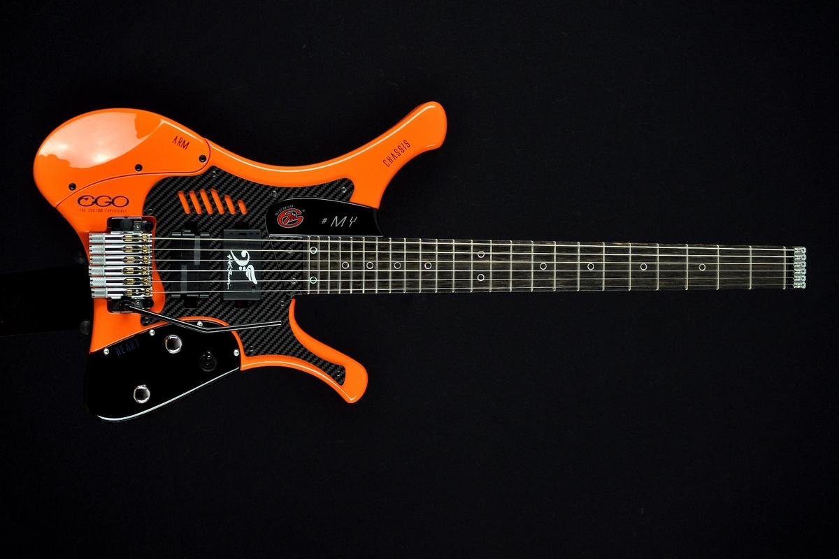 The Ego Thunder guitar from A Little Thunder and the Marconi Lab custom shop