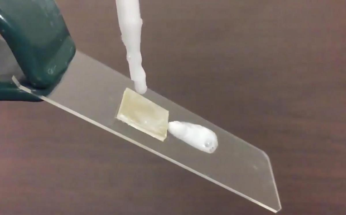 A microscopic coating lets shampoo, soap, and other heavy liquids slide right out of the bottle – so you're no longer left battling to get the dregs out at the end