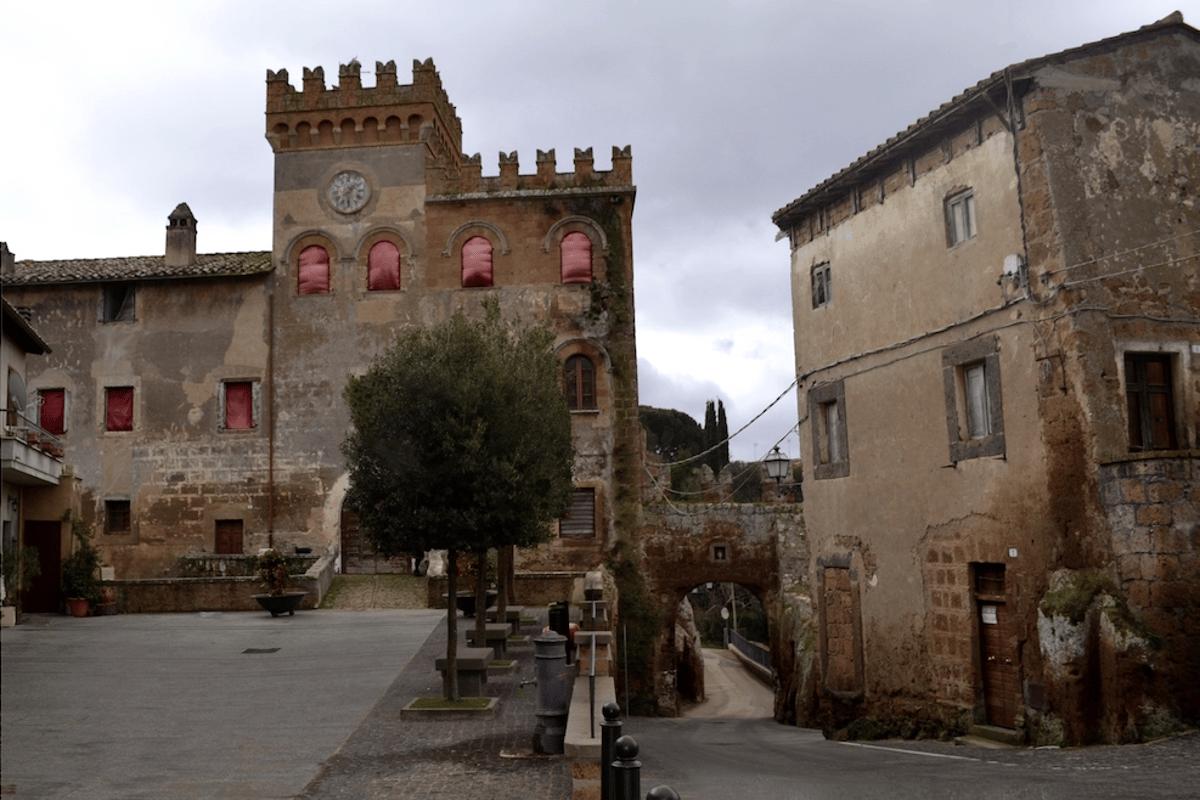 Castello di Blera is a castle located in the center of the village of Civitella Cesi, a small hamlet of ancient Etruscan origin